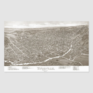 Titusville Rectangular Stickers
