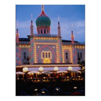 Tivoli Gardens in Copenhagen, Denmark Postcard