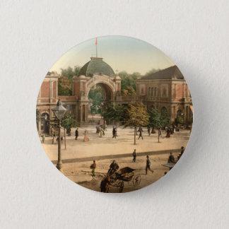 Tivoli Park Entrance Copenhagen Denmark 6 Cm Round Badge