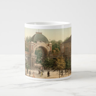 Tivoli Park Entrance Copenhagen Denmark Large Coffee Mug