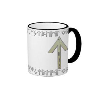 Tiwaz Rune gold Mugs