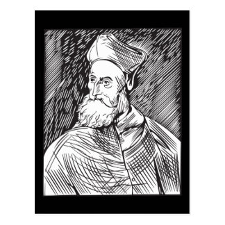 Tiziano Portrait of the cardinal Pietro Bembo Postcard