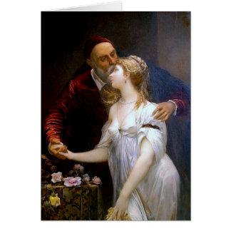 Tiziano y Lavinia (loving couple) ~ Card