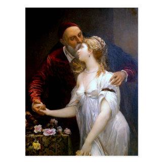 Tiziano y Lavinia (loving couple) ~ Postcard