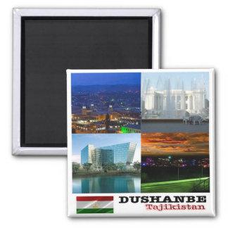 TJ - Tajikistan - Dushanbe - Collage Mosaic Magnet