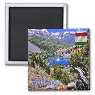 TJ - Tajikistan - Fan Mountains Magnet