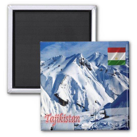TJ - Tajikistan - Mine site Square Magnet