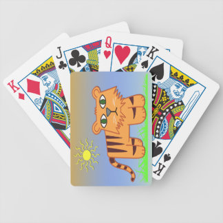 TJ the Tiger Cute Kid's Playing Cards