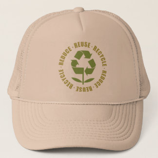 TJED Reduce Reuse Recycle [logo] Trucker Hat