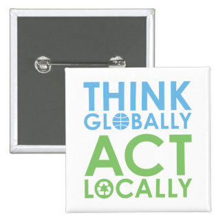 TJEDtxt Environmentalist 15 Cm Square Badge
