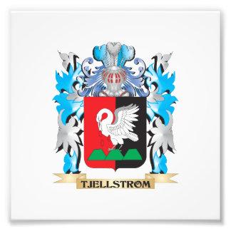 Tjellstrom Coat of Arms - Family Crest Art Photo