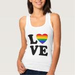 TJGL Rainbow Heart Love Tee Shirt