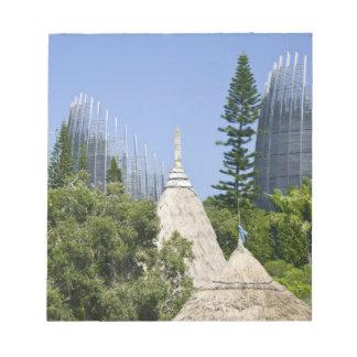 Tjibaou Cultural Centre, Noumea, New Caledonia 2 Notepad