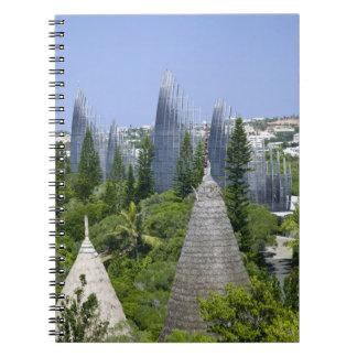 Tjibaou Cultural Centre, Noumea, New Caledonia Notebooks