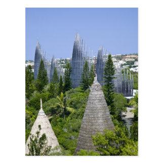 Tjibaou Cultural Centre, Noumea, New Caledonia Postcard