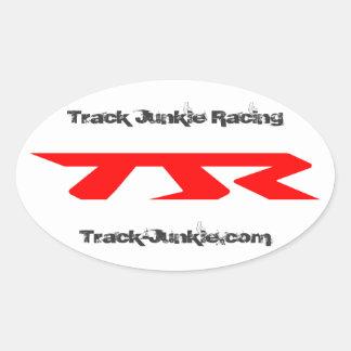 TJR Oval Stickers