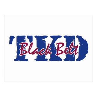 TKD Black Belt Postcard