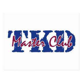 TKD - Master Club Postcards