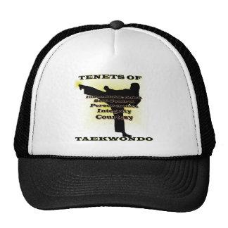 TKD Tenets Gold Highlight Cap