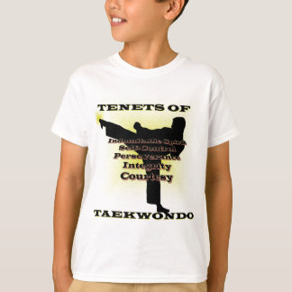 TKD Tenets Gold Highlight T-Shirt