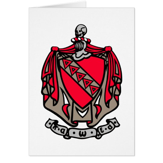 TKE Coat of Arms Card
