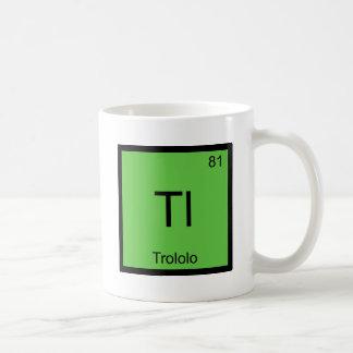 Tl - Trololo Chemistry Element Symbol Meme T-Shirt Basic White Mug
