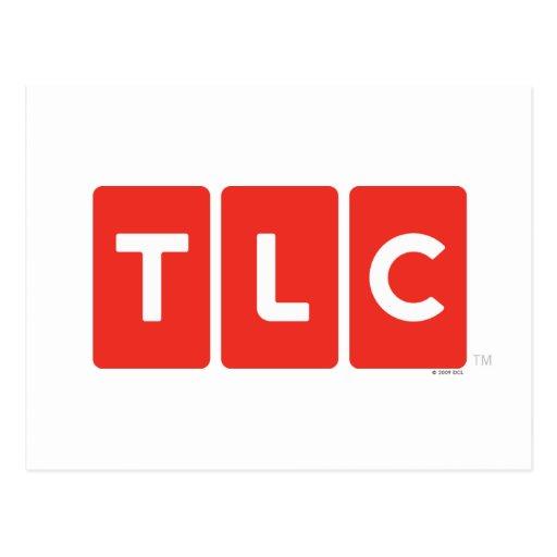 TLC Logo Postcard