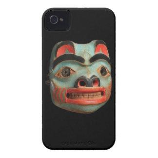 Tlingit Bear Mask iPhone 4 Case-Mate Cases