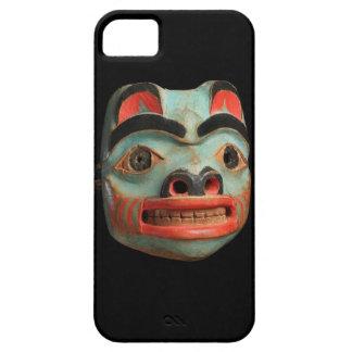 Tlingit Bear Mask iPhone 5 Cases