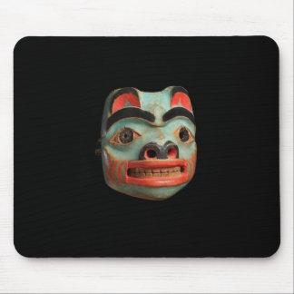 Tlingit Bear Mask Mouse Pads