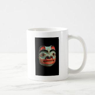 Tlingit Bear Mask Basic White Mug
