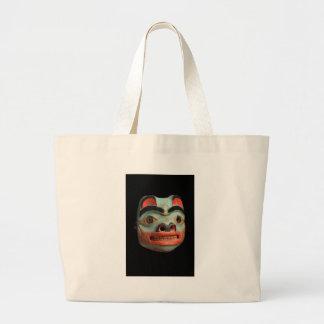 Tlingit Bear Mask Tote Bag