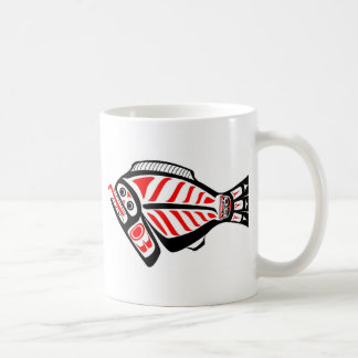 Tlingit Halibut Basic White Mug