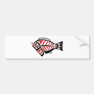 Tlingit Halibut Bumper Sticker