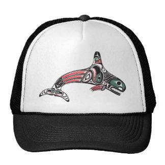 Tlingit Killer Whale & Eagle Cap