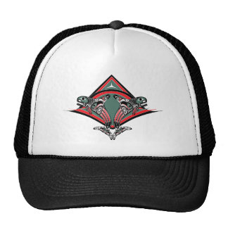 Tlingit Killer Whale Eagle Hats