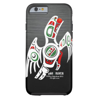 Tlingit Raven Design Tough iPhone 6 Case