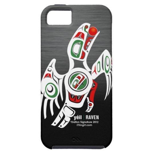 Tlingit Raven Design iPhone 5 Cover