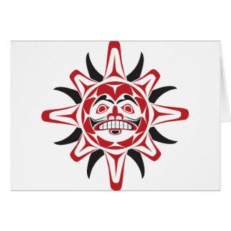 Tlingit Sun Card