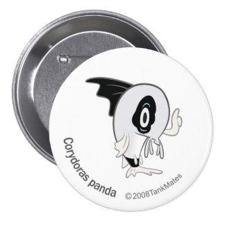 TM-07-Corydoras panda 7.5 Cm Round Badge
