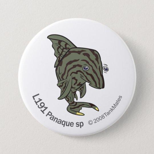 TM-13-L191 Panaque sp 7.5 Cm Round Badge