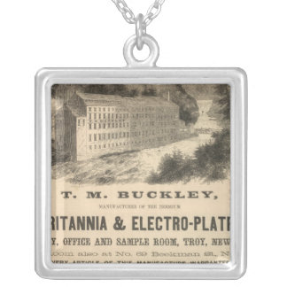 TM Buckley Silver Plated Necklace