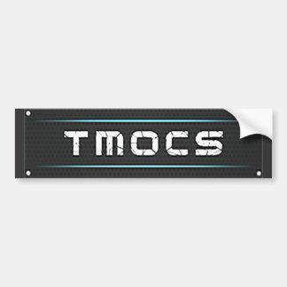 TMOCS DJ Logo Bumper Sticker