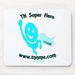 TN Super Hero mouse pad.