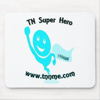 TN Super Hero mouse pad. Mouse Mat