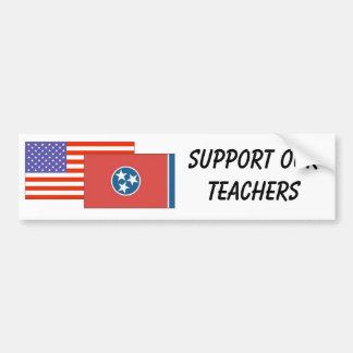 TN--Support Our Teachers Bumper Sticker