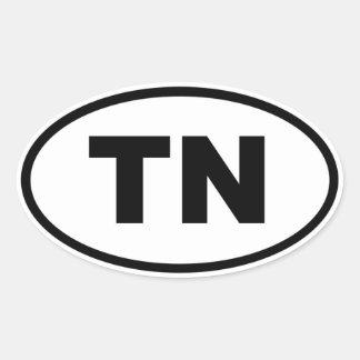 TN Tennessee Oval Sticker