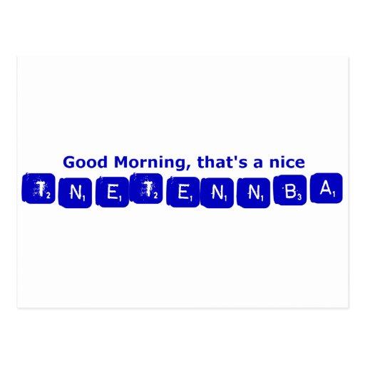 TNETENNBA - Good Morning Postcards