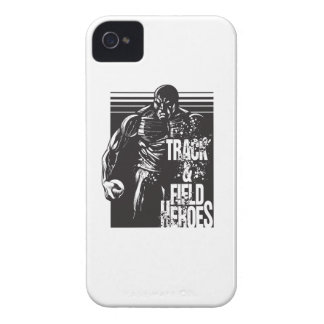 tnf heroes shot put iPhone 4 cases