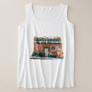 TNIT Women's Plus-Size Tank Top (Starbucks)